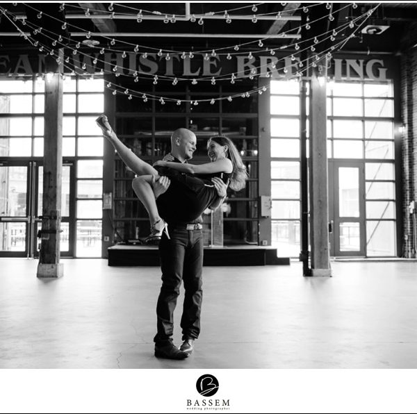 Steam Whistle Brewery Engagement :: Michelle+Mark